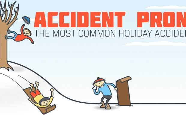 Accident Prone: Common Holiday Accidents [INFOGRAPHIC]
