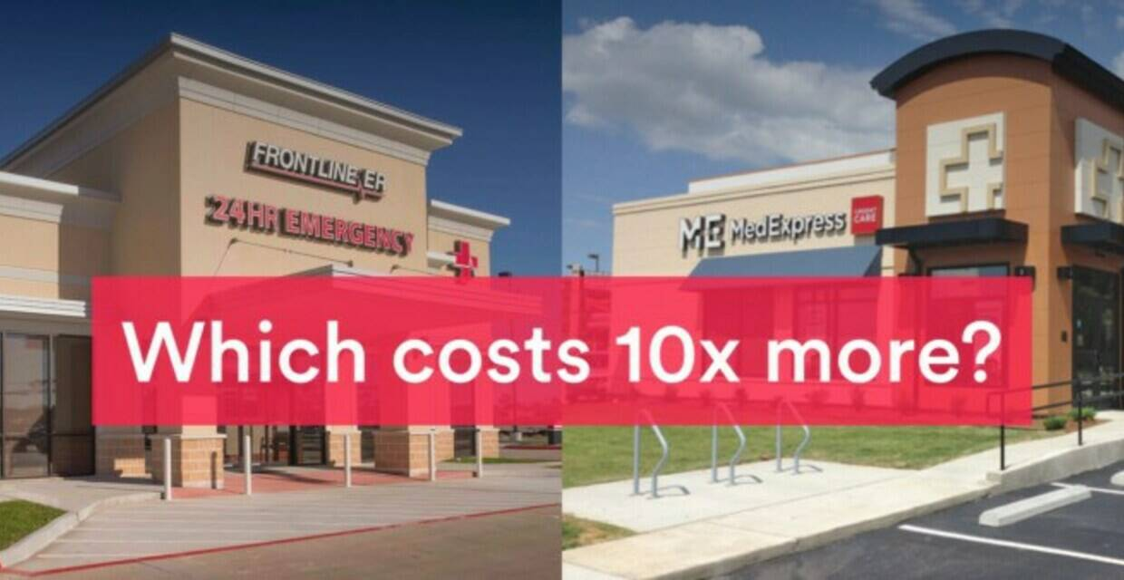 Freestanding ERs vs. Urgent Care: Big Difference Is Your Medical Bill