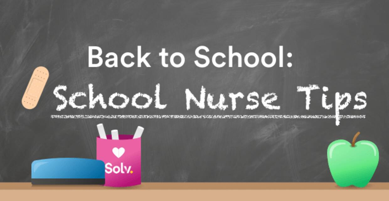 5 Back To School Tips: Directly From The School Nurse