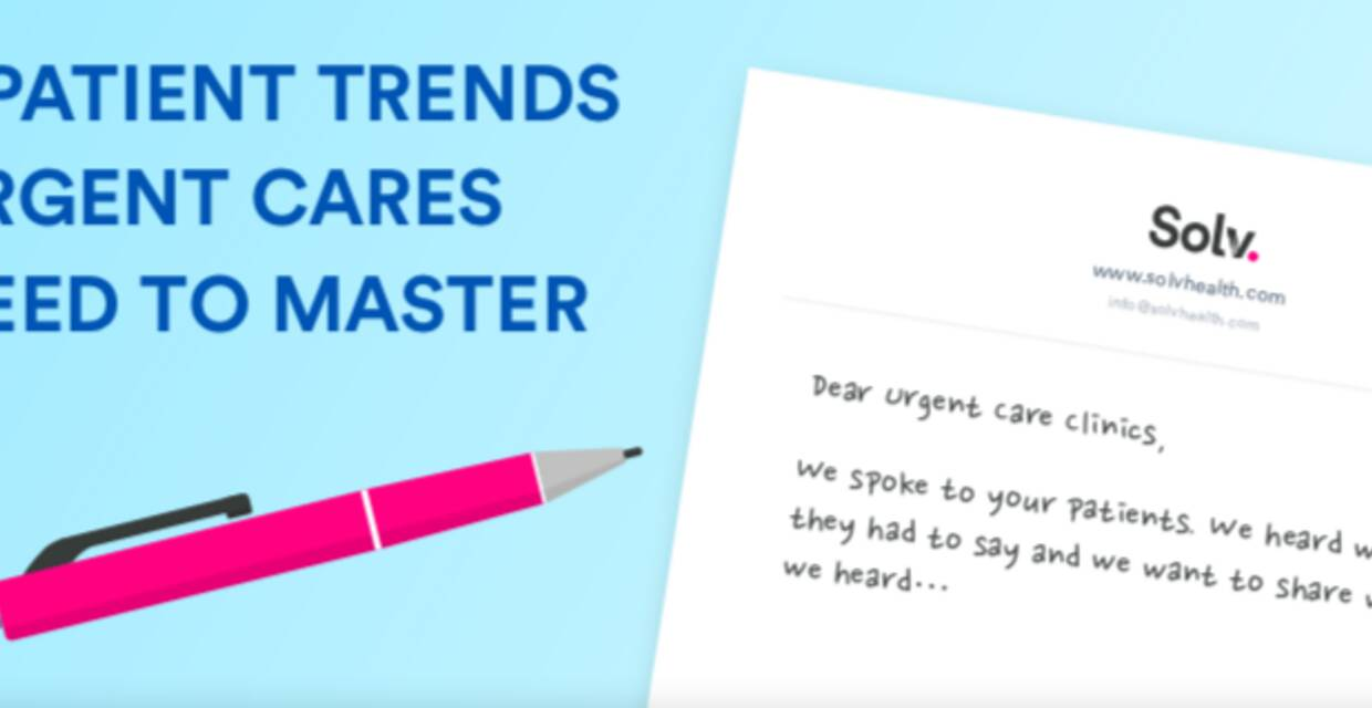 8 Trends Urgent Cares Need to Master