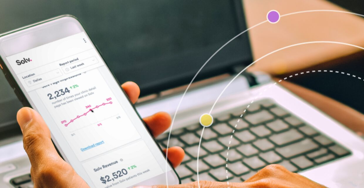 Solv's Clinic Analytics magnifies urgent care reporting and insights
