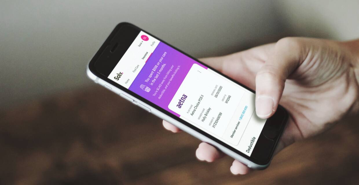 Tackling convenience, access and insurance tracking. Introducing the Solv app.