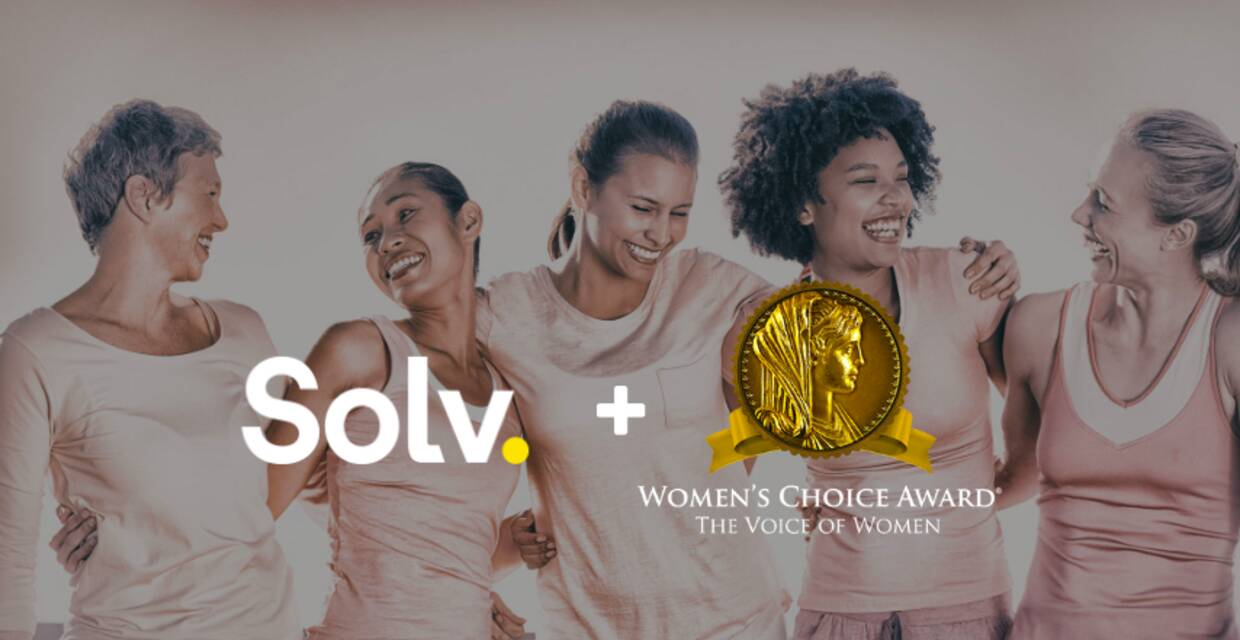 Solv and The Women's Choice Award Recognize Quality Urgent Care Providers