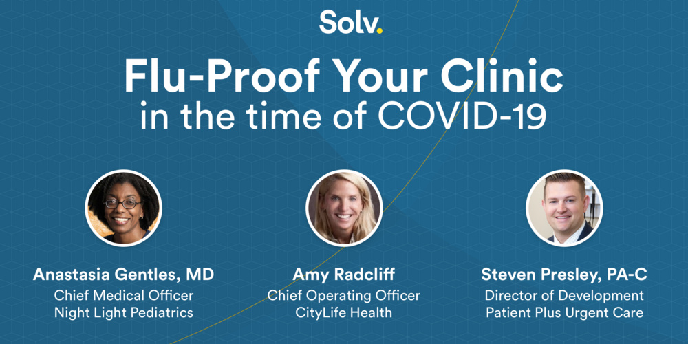 Flu-proof Your Clinic for 2020-21... with a COVID twist