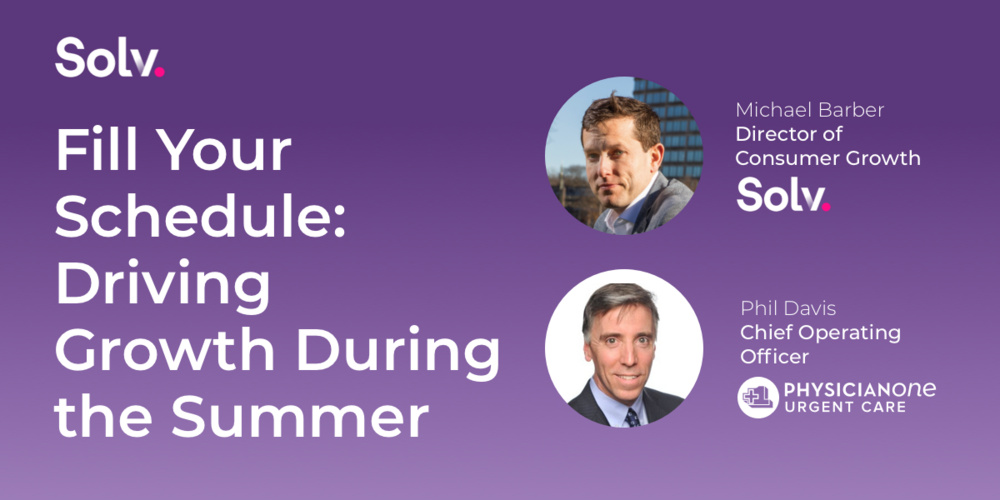 Fill Your Schedule: Driving Growth During the Summer